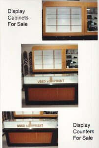 USED Show Case Cabinets