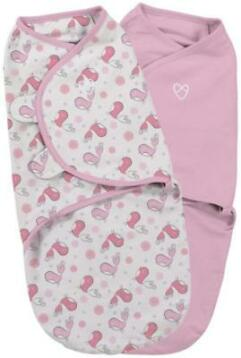Swaddle Me Original Swaddle Katoen 2-Pack Tweet Tweet Small