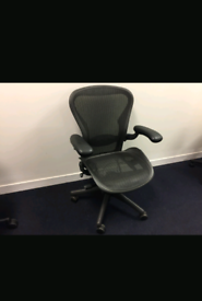 Herman Miller Aeron Size B with Lumbar support (4 Available) £450 each