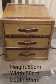 BARGAIN Pair of Timothy Oulton Lamp/Side Tables Size Large RRP £4000