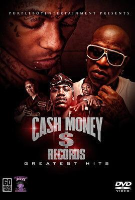 CASH MONEY 60 MUSIC VIDEOS HIP HOP RAP DVD LIL WAYNE JUVENILE BIRDMAN BIG TYMERS
