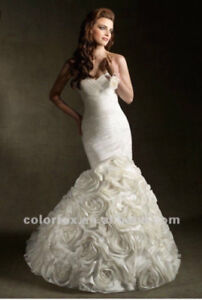 WEDDING DRESS *never worn*