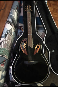 Ovation CS257 Celebrity Acoustic Electric Guitar with Hardshell