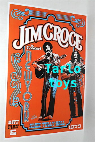 JIM CROCE + Maury Muehleisen - New York, us 5 may 1973 - concert poster