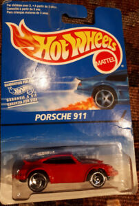 1996-Hot-Wheels-Red Porsche 911-Diecast-1:64 scale-#15789