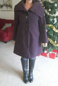 Chic Purple Coat