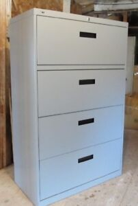 IMPECCABLE HEAVY-DUTY 4-DRAWER FILING CABINET