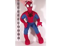 "LARGE TALKING 20"" SPIDERMAN SOFT TOY SPIDER-MAN"
