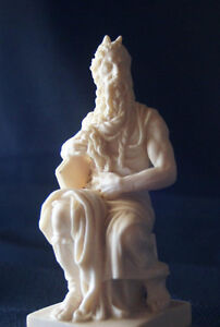 "Figurine of ""Moses and the Tablets"" by A. Santini"