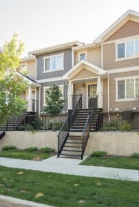 REDUCED! Beautiful lake/park front townhouse in West Edmonton