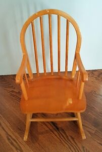 Childs Solid Wood Rocking Chair London Ontario image 1