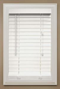 Faux Wood Blind by Home Decorators Collection.