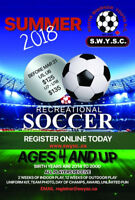 South Windsor Youth Soccer Summer House League!