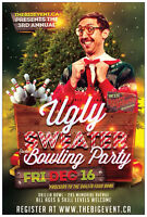 3rd Annual Ugly Sweater Bowling Party