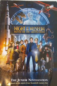 Night at the Museum Battle of the Smithsonian Junior Novel Book