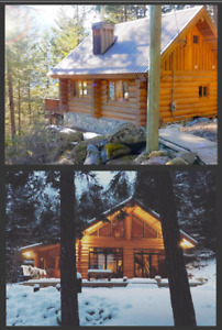 Log Cabins For Rent - Pemberton.