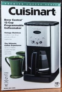 Cuisinart 1200C 12 cup programable  coffee maker.....NEVER USED!