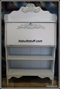 Shabby Chic Secretary Desk-price lowered to $200.