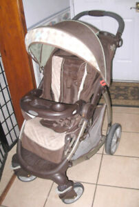 Used Graco Stroller (from newborn) with multiple seat positions