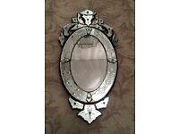Laura Ashley Oval Mirror