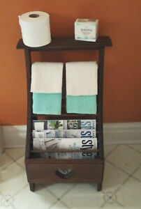 OLD STYLE TOWEL OR MAGAZINE RACK