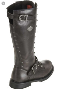 Harley-Davidson lace up boots & Skechers Anti-slip shoes