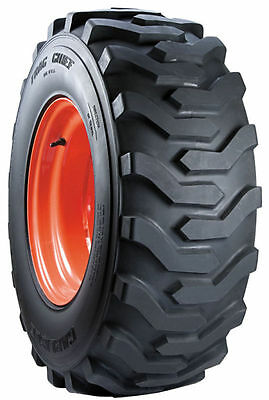 One New Carlisle 27x10.50-15 Case Bobcat New Holland Trac Chief Skid Steer Tire