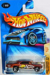 Hot Wheels 1/64 1967 Pontiac GTO Cocoa Puffs Diecast Car