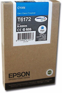 Epson T6172 - print cartridge - High Capacity - cyan