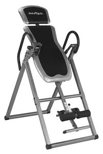 Inversion Table for spine decompression