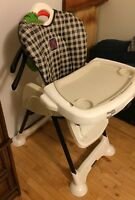 Baby high chair , chaise haute.