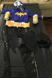Child Size 7-8, Batgirl Halloween Costume