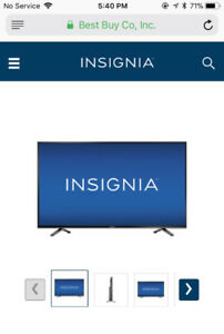 Insignia tv for sale