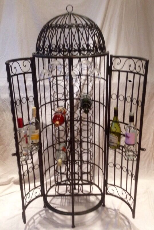 Bird Cage Wine Rack In Kirkcaldy Fife Gumtree