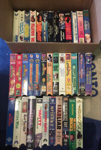 LOT OF VHS TAPES MOVIES CLASSICS OBO