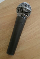 Shure SM58 Mic Microphone  3 available.