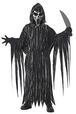 Scream Howling Horror Grim Reaper Child - Boys Grim Reaper Costume