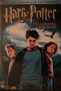 2 DVD Harry Potter et le prisonnier d'Azkaban