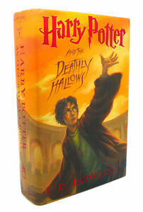 Harry Potter Hardcover and the Deathly Hallows (2007 First Ameri