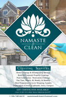 Cleaning services and more!