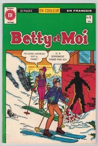 1981, BETTY & MOI, #9, 32 PAGES EN COULEUR