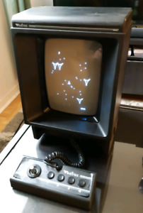 Vectrex with 3 games and overlays