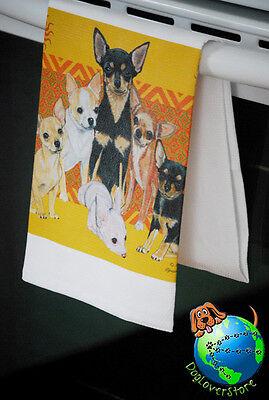 Chihuahua Kitchen Hand Towel