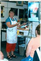 OIL PAINTING CLASSES WITH CERTIFIED INSTRUCTOR