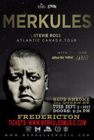 Merkules Live in Concert - Fredericton!