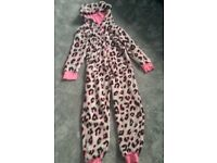 Velour Girls Onesie from Next