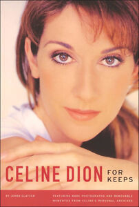 Celine Dion - for keeps (book with rare photo's) reg $54.99