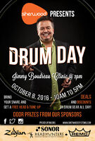 DRUM DAY at SHERWOOD - October 8th
