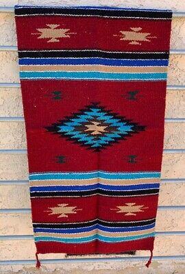 """Western Southwestern New West Hacienda Saddle Blanket/Throw Rug 20"""" X 40"""""""