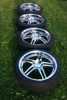 "CHEAP!!! x4 19"" Wheels with rwc tyres!!! Melton South Melton Area Preview"